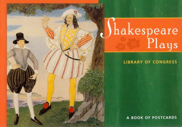 Front cover of Shakespeare Plays:  A Book of Postcards