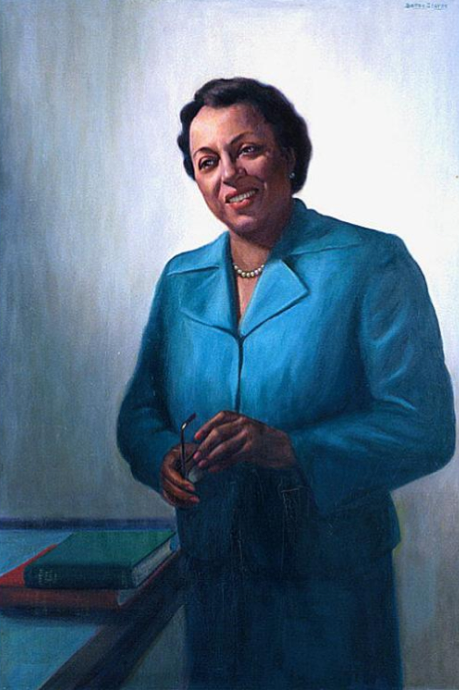 Edith Spurlock Sampson (1901-1979), by Betsy Graves Reyneau  (1888-1964)Oil on canvas, 1953