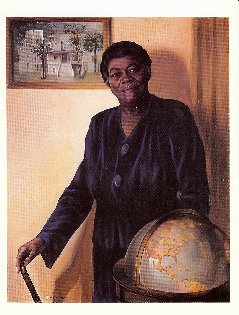Mary McLeod Bethune (1875-1955) by Betsy Graves Reyneau (1888-1964), Oil on Canvas, 1943-1944
