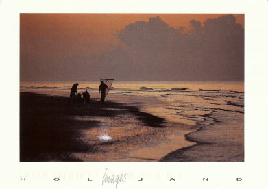 Zandvoort, Prawn Fishing/Garnalen vissers (c) Evert Nihot