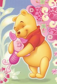 "Winnie the Pooh and Piglet, (c) Disney, based on the ""Winnie the Pooh"" works of A.A. Milne and E.H. Shepard"