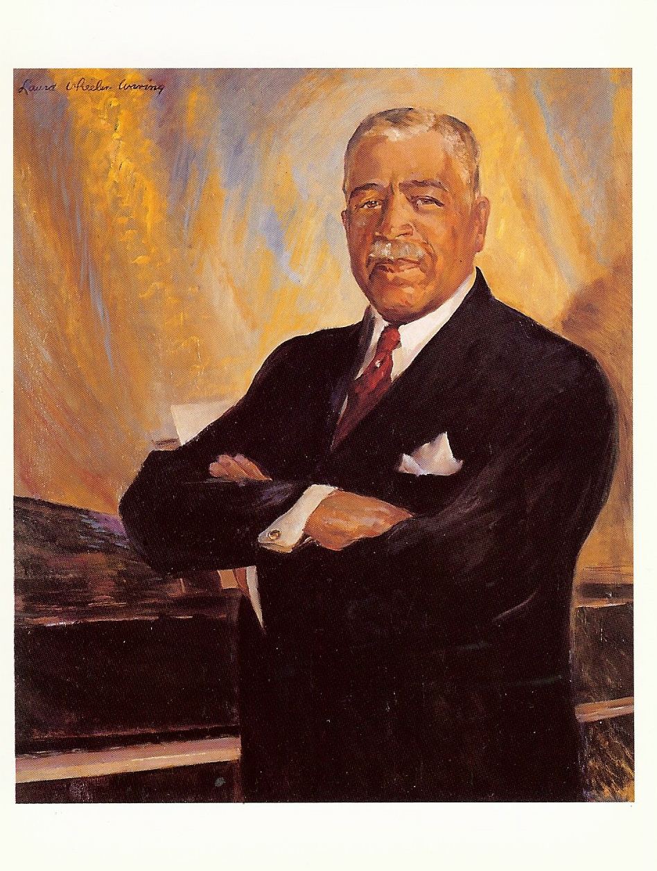 Harry T. Burleigh by Laura Wheeler WaringOil on canvas, not dated