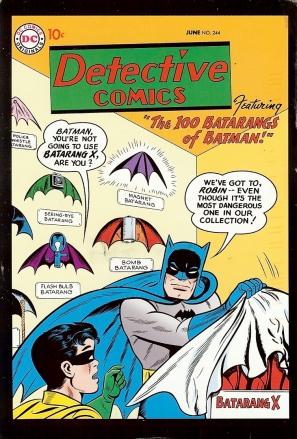 DC Comics, No. 244, June 1959, Artist: Sheldon Moldoff