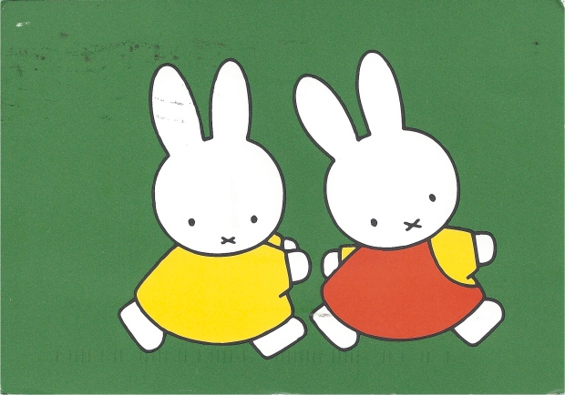 """Miffy.""  Illustration by Dick Bruna."