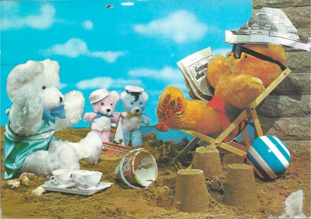 """""""Teddy Bear Tea Party on the Beach"""""""