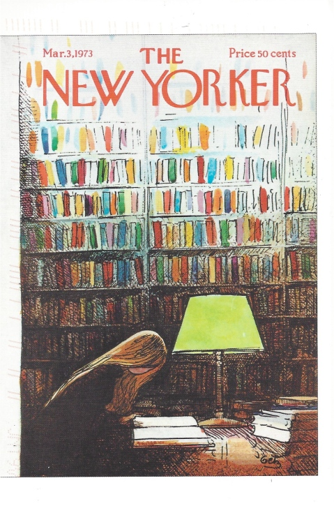 New Yorker. Cover by Arthur Getz, March 3, 1973