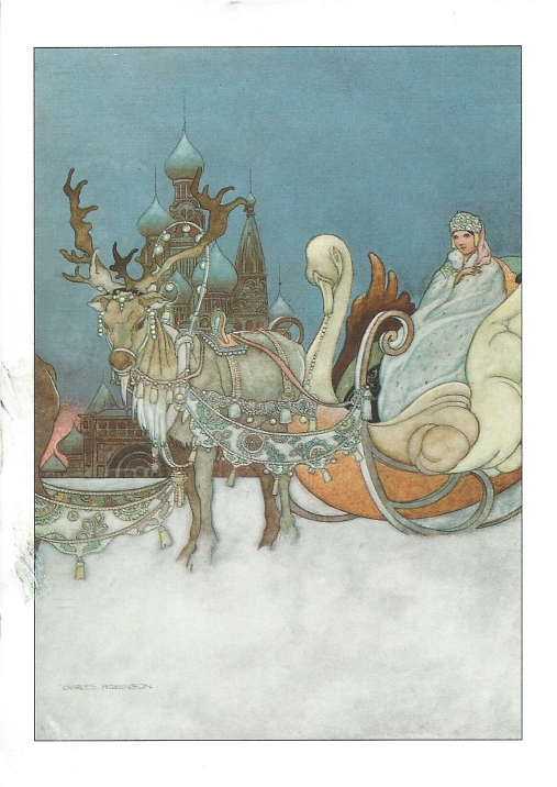 "Charles Robinson, ""The Remarkable Rocket,"" The Happy Prince and Other Tales by Oscar Wild, 1913.  From Once Upon a Time."