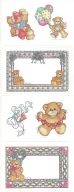 Teddy Bear Stickers by Lucy and Co.