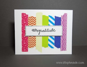 """""""With Gratitude,"""" from """"A StephMade Life."""""""