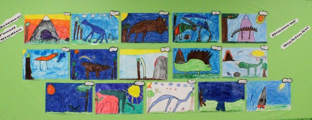 """Dinosaur Sightings"" by Mrs. C's Second Grade Class"