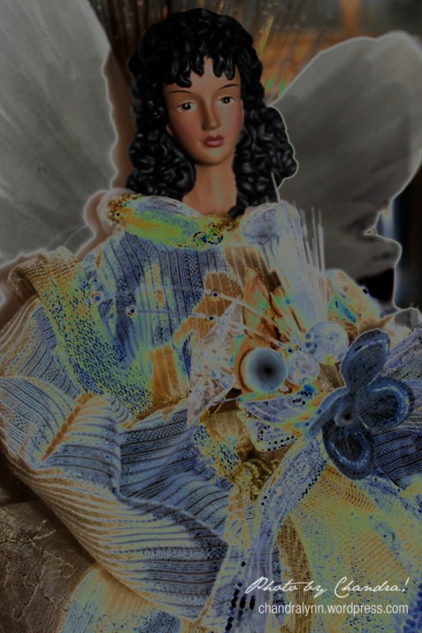 """Karlette's Angel,"" 2012--altered in Photoshop"