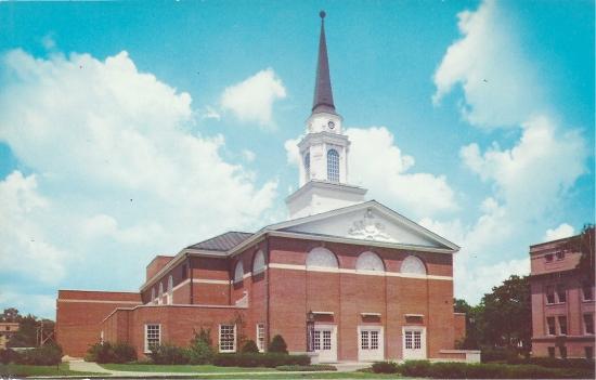 Sinclair Memorial Chapel on the Campus of Coe College, Cedar Rapids, Iowa