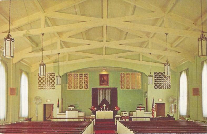 The United Methodist Memorial Home, Chancel of the Applegate Chapel