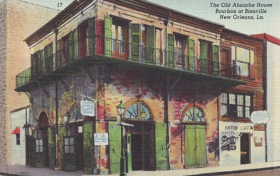 The Old Absinthe House, Bourbon at Bienville, New Orleans, Louisiana