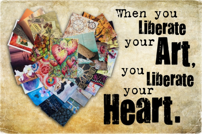 """Liberate Your Heart,"" Kat Sloma, 2014"