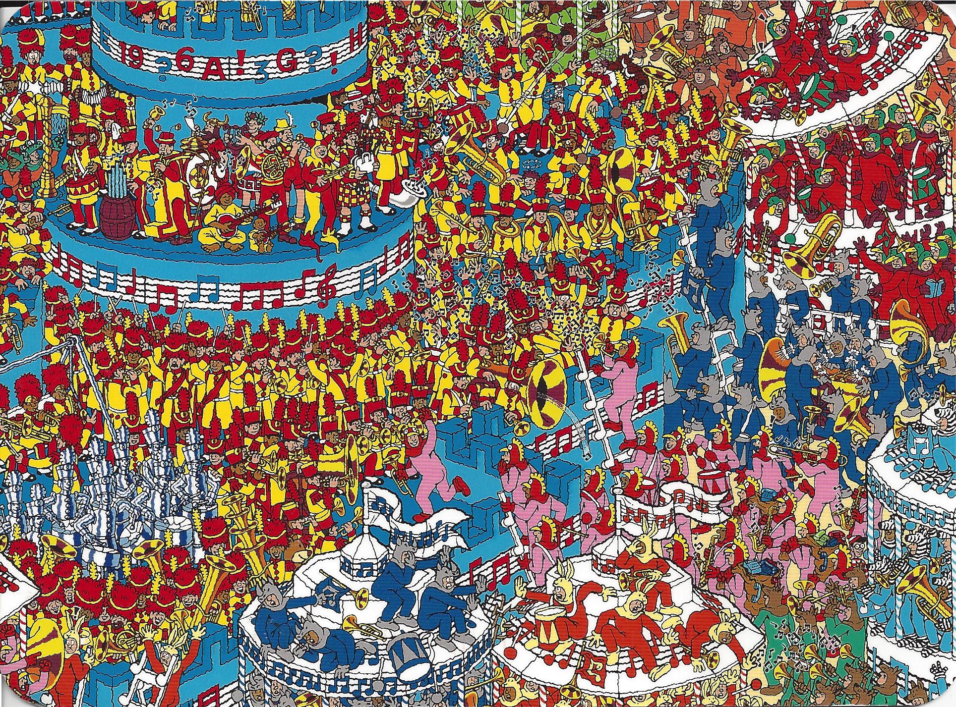 Where IS Waldo? | Pics and Posts