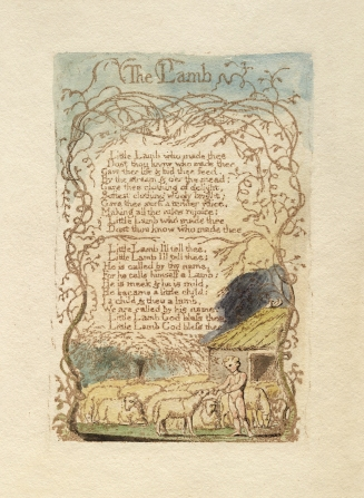 """The Lamb"" by William Blake, from Songs of Innocence"
