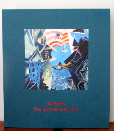 The Cat Behind the Hat Front of Slipcase
