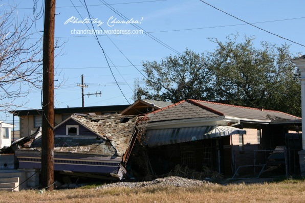 """One Roof on Top of Another,"" New Orleans, Louisiana, December 2005"