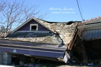 """A House on a House,"" New Orleans, Louisiana, December 2005"