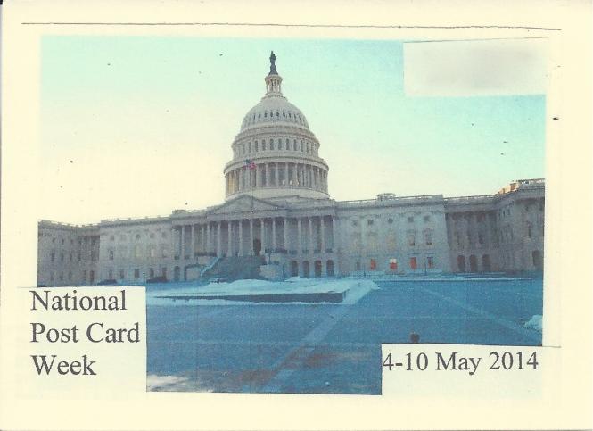 """United States Capitol, Washington D.C.: Home of House of Representatives and Senate,"" Photo by William Marquart, January 2014"