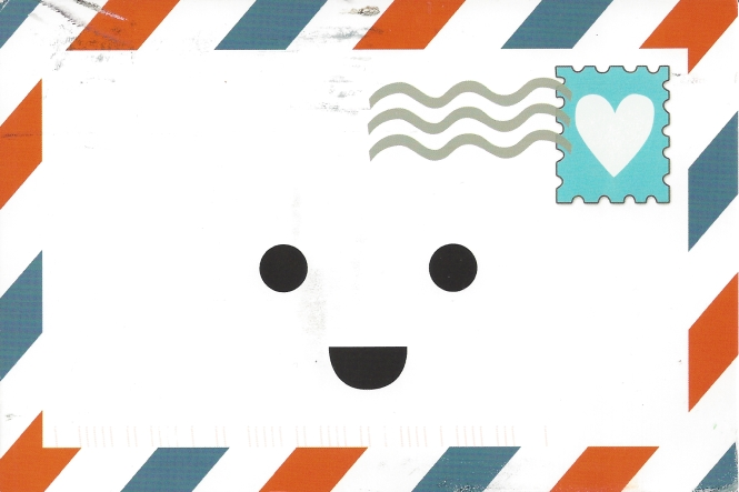 Ernie the Envelope, swap-bot's cute logo.