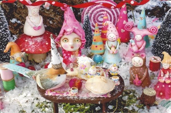 """Elfin Party"" (c) www.VanessaValencia.com"