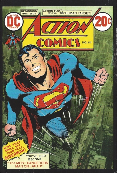 Action Comics No.419, December 1972 | Artists: Neal Adams and Murphy Anderson, DC Comics