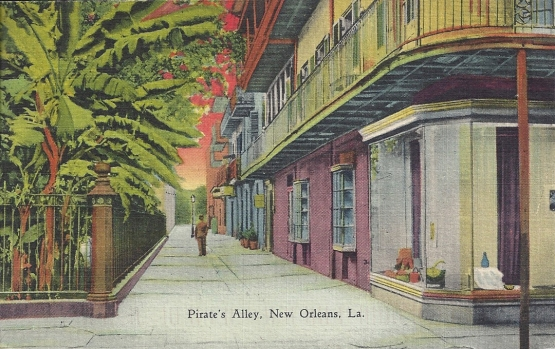 Pirate's Alley, New Orleans, Louisiana