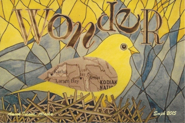 """Wonder"" by Sherry Harmes, Amook Island Creations"