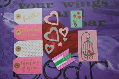 Tags, Hearts, and Hellos