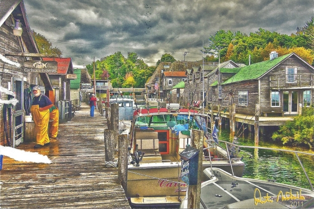 """Fishtown"" by Pete Nicholls"