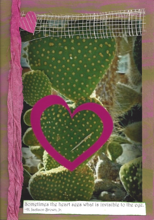 cactus heart card
