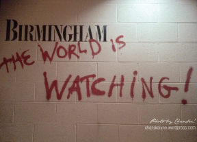 The world watched in horror as atrocities were committed against Blacks in Birmingham.