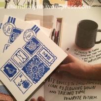 A Closer Look: Egg Press Notecards