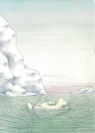 Week 11: From Marjan (Netherlands). Illustration by Hans de Beer, Little Polar Bear