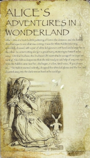 Week 43: From Mmiatsu (Finland). Alice in Wonderland.