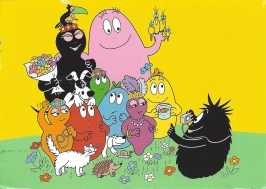 Week 44: From Marjan (Netherlands). Barbapapa.