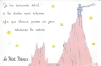 "Week 26: From Nana (USA). ""I wonder he said if stars are lit up so that one day we can all find our own."" Le Petit Prince (The Little Prince), Antoine de Saint-Exupéry."