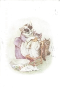 Week 52: From Laura (USA). Illustration by Beatrix Potter. From _The Tale of Tom Kitten_, 1907.