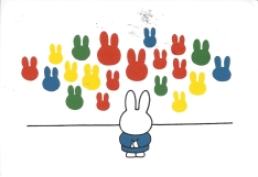 Week 62: From Jetske (Netherlands). Illustration by Dick Bruna. Nijntje (Miffy).