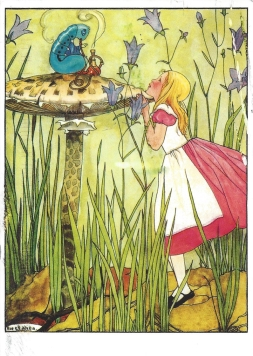 Week 74: From Aimee (USA). Illustration by Erven Rie Cramer for Alice's Adventure in Wonderland.