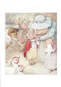 Week 53b: From Pam (USA). Illustration by Beatrix Potter. From _The Tale of Pigling Bland_, 1913.
