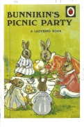 Week 51: From Debbie (England). Bunnikin's Picnic Party, 1940. By A.J. MacGregor.
