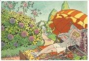 Week 85: From Marjan (Netherlands). Illustration by Ella Riemersma for Het Verzenboek van Lijsje.