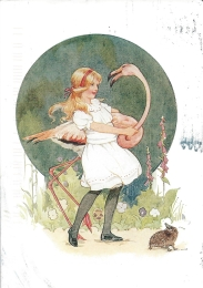 Week 86: From Amy (USA): Illustration by Margaret Tarrant for Lewis' Carool's _Alice in Wonderland_ .