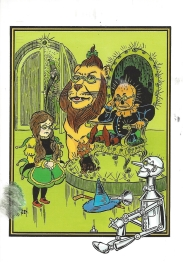 Week 87: From Jenny (USA). Illustration by W.W. Denslow (rendered by Ted Menten) for _The Wonderful Wizard of Oz_ by L. Frank Baum.