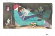Week 90: From Marjan (Netherlands): Illustration by Fiep Westendorp for _Pim en Pom_.