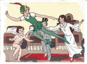 Week 91: From Peggy (USA). Illustration by Eulalie from _Eight Fairy Tales_, 1934. Peter Pan.