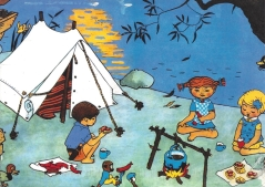 Week 78: From Mmiatsu (Finland). Illustration by Ingrid Vang Nyman for Pippi by Astrid Lindgren.